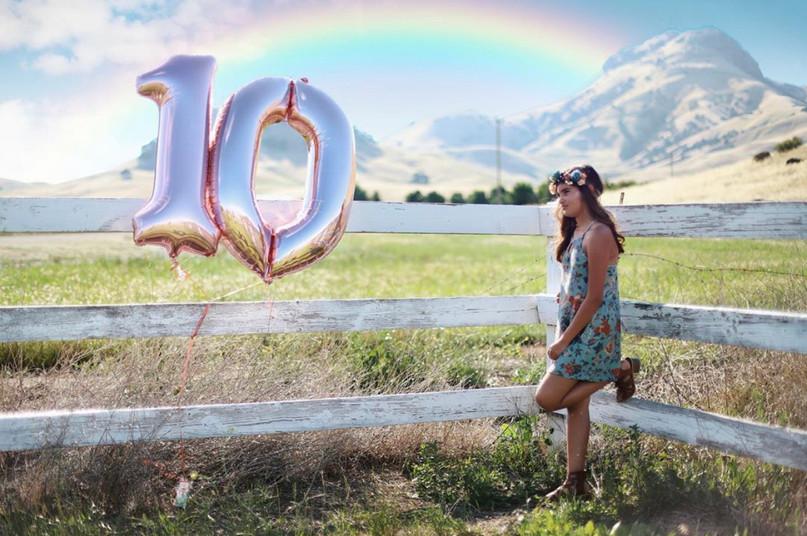 10th birthday session