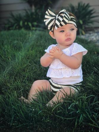 6 month old portrait
