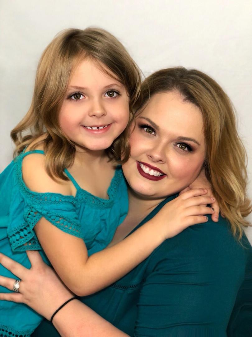 Mom & Daughter in Studio