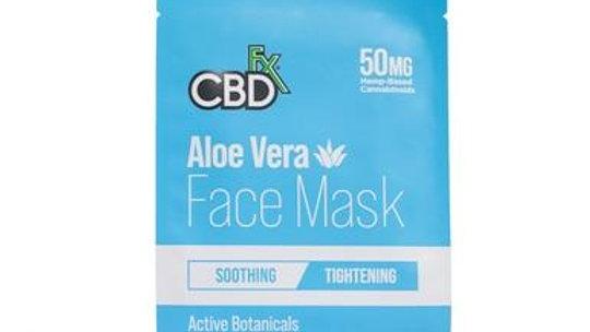 CBDfx Face Mask - Aloe Vera - 50mg