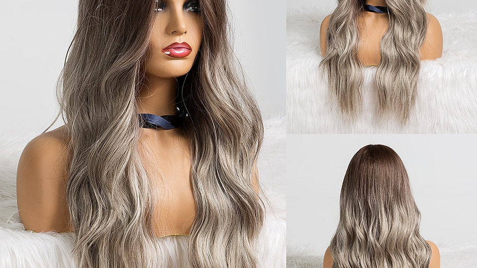 EASIHAIR Long Ombre Synthetic Wigs