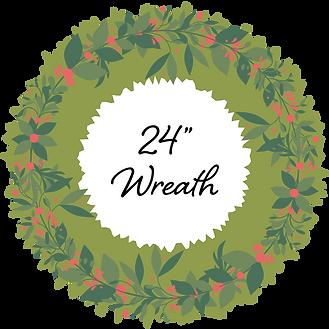24in Wreath - Around Town [2020]