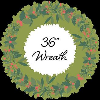 36in Wreath - Bridge Street [2020]