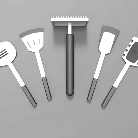 Kitchentools visuals