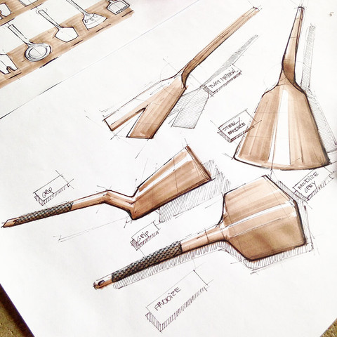 Kitchentools sketch idea