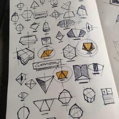 Sketching shapes