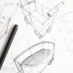 Beachcar idea sketch