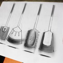 Kitchentools concept sketch