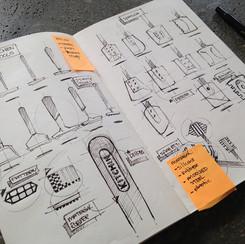 Idea notes kitchentools