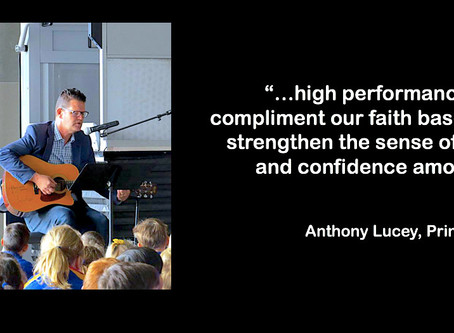 High Performance Teaching Teams in Catholic Education with Principal, Anthony Lucey