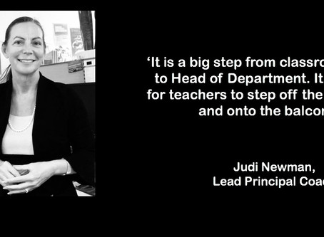HPS Leadership Shares: Building Middle Leader Capability in Large High Schools with Judi Newman