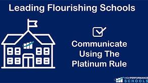 LFS - Communicate Using The Platinum Rule