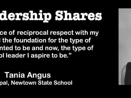 HPS Leadership Shares with Principal, Tania Angus: Building High Performance Teaching Teams