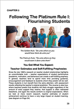 Following The Platinum Rule 1: Flourishing Students Article Cover Image
