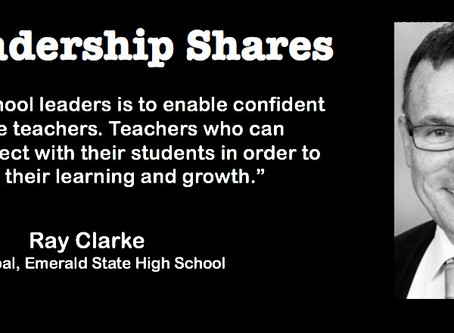 Leadership Shares: Ray Clarke on Building High Performance Secondary Schools