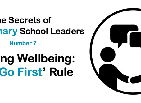 Leading Wellbeing: The 'Go First'​ Rule