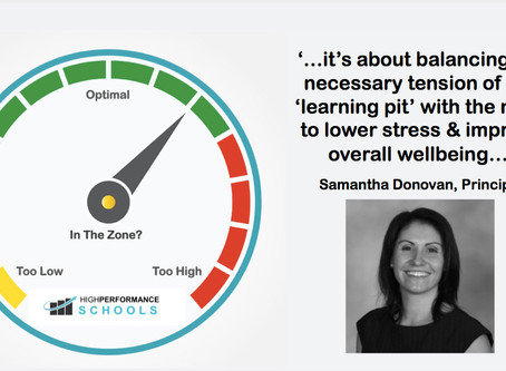 School Culture & High Performance Teaching Teams: Leadership Shares with Samantha Donovan
