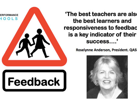 High Performance Schools & The Power of Feedback: Leadership Shares with Roselynne Anderson