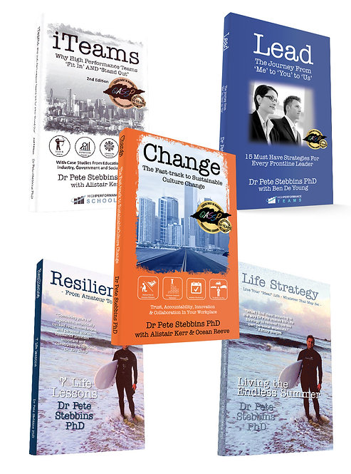 Dr Pete's 5-Pack (Books)