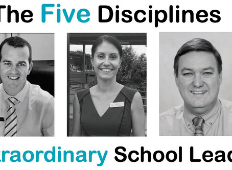 The Five Disciplines of Extraordinary School Leaders