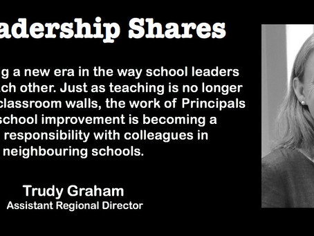 Leadership Shares: Trudy Graham on Principal Forums, Social Capital & Collaborative Empowerment