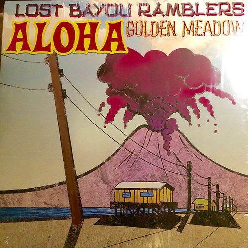 "Lost Bayou Ramblers ‎– Aloha Golden Meadow 12"" Single"