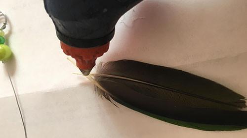 Liveparrot Papagei Schlüsselanhänger Basteln mit Federn Tutorial