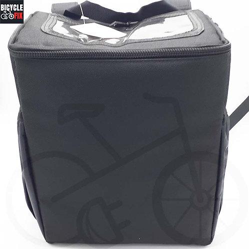 תיק קדמי לאופניים חשמליים גודל בינוני - https://www.bicyclefix.net/