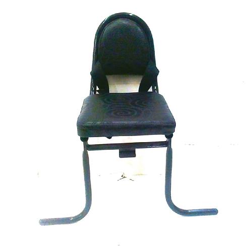 כיסא אחורי לסבל עם חגורה
