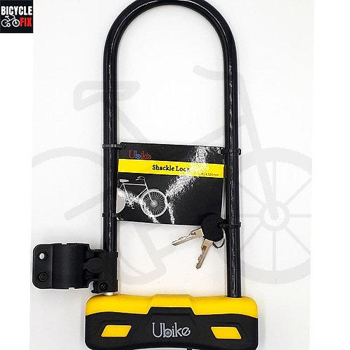 מנעול לאופניים פרסה ארוך | UBIKE - https://www.bicyclefix.net/