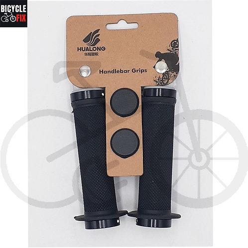 זוג גריפים יוקרתיים לאופניים צבע שחור -  https://www.bicyclefix.net/