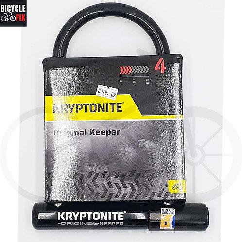 מנעול לאופניים Kryptonite - Original Keeper STD -  https://www.bicyclefix.net/