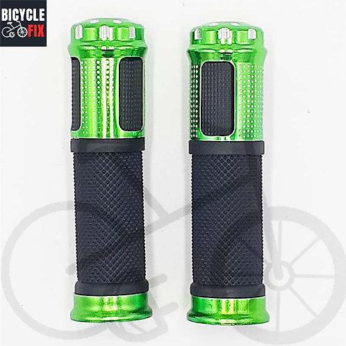 זוג גריפים לאופניים שחור/ירוק -  https://www.bicyclefix.net/