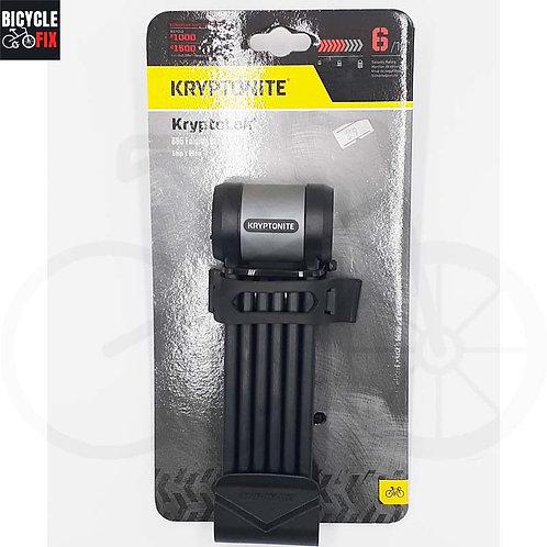מנעול קריפטונייט | Kryptolok 685 Folding Lock 5mm x 85cm