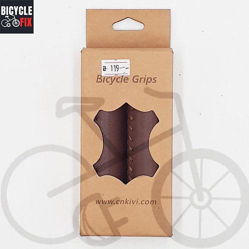 זוג גריפים וינטג' לאופניים צבע חום - https://www.bicyclefix.net/