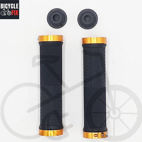 זוג גריפים לאופניים זהב/שחור - https://www.bicyclefix.net/