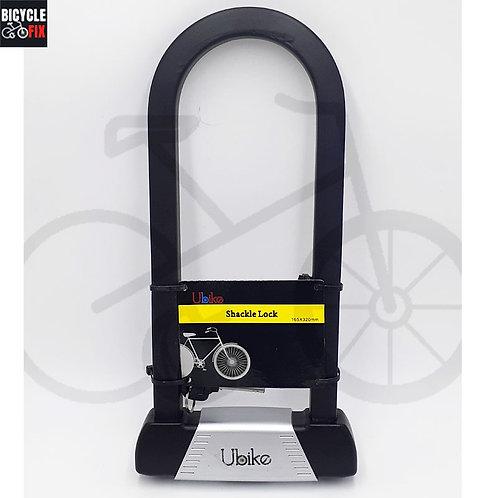 מנעול פרסה גדול ועבה במיוחד | UBIKE - https://www.bicyclefix.net/