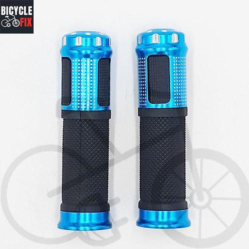זוג גריפים לאופניים שחור/כחול - https://www.bicyclefix.net/