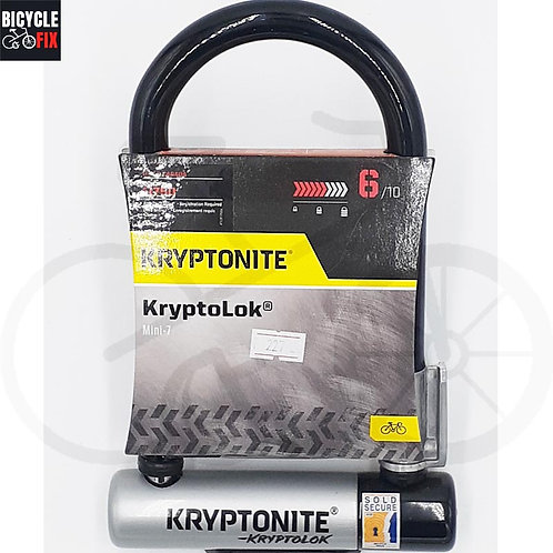 מנעול קריפטונייט | KryptoLok Mini-7 -  https://www.bicyclefix.net/