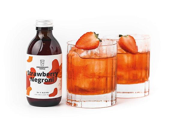 Strawberry Negroni (Serves 2)