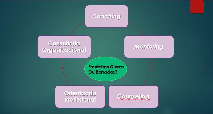 Coaching, Mentoring, Counseling, Consultoria Organizacional e Orientação Profissional