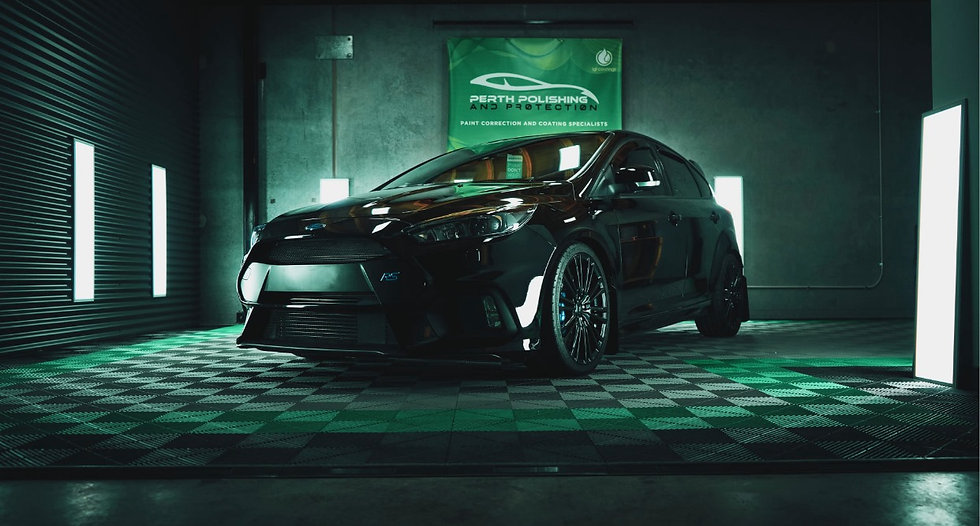 focus rs polishing anfd paint protection