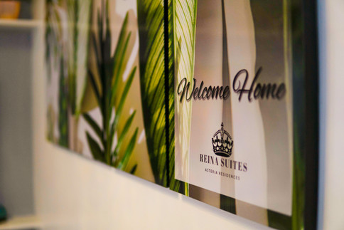 Welcome Home at Reina Suites
