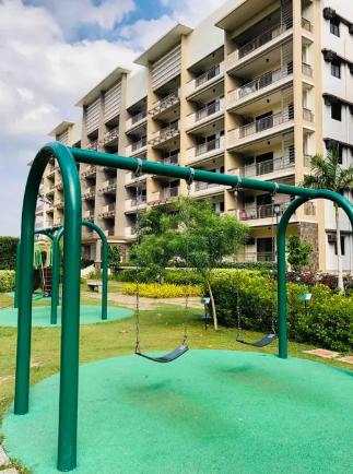 Swingset on property