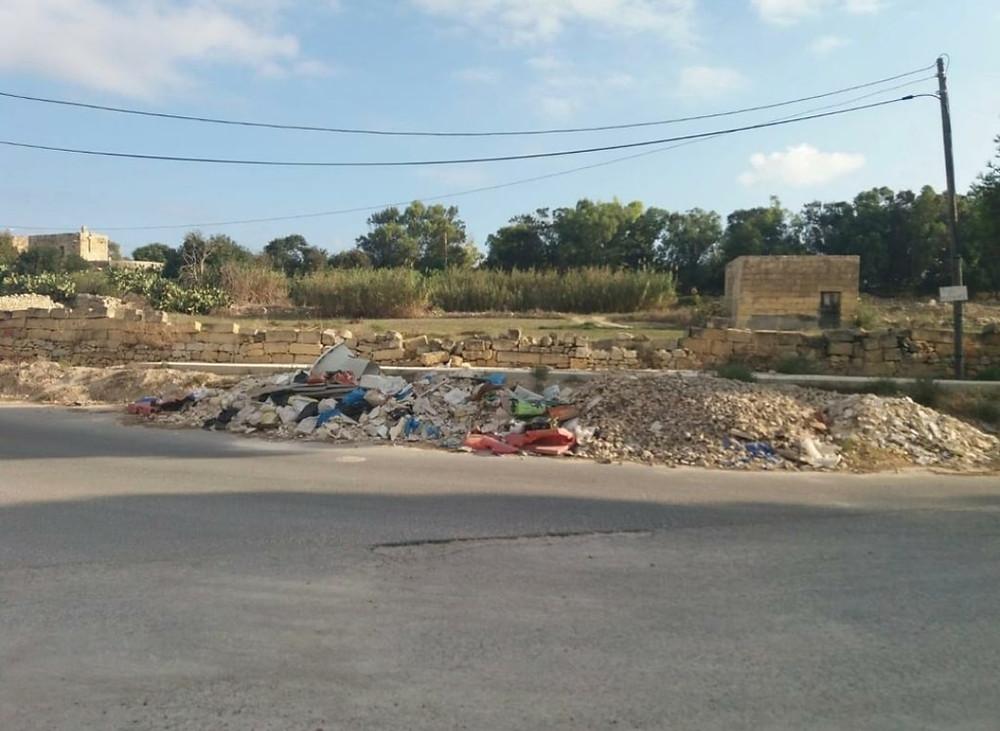 Malta, dumping, illegal,cctv