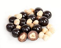 orzechy w czekoladzie