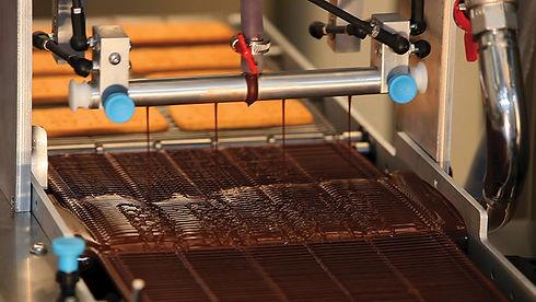 Oblewanie czekoladą