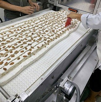 Produkcja nugat