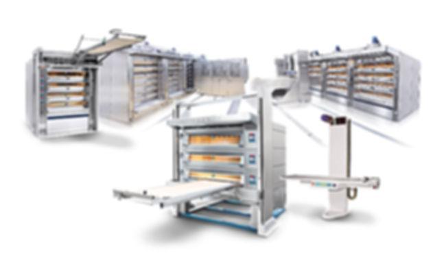 Piekarnia maszyny i urządzenia