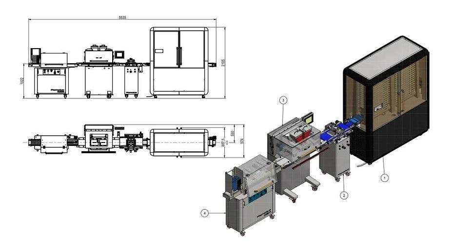 Linia do produkcji pralin
